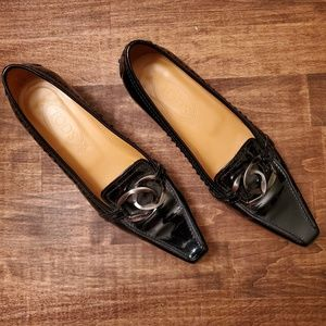 Authentic Tod's block heel pump